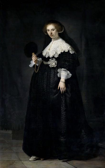 Portrait of Oopjen Coppit. Rembrandt Harmenszoon Van Rijn