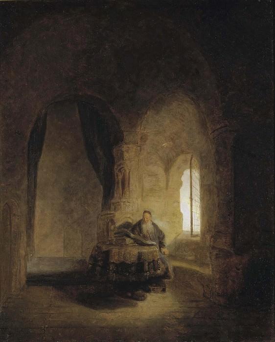 Святой Анастас. Рембрандт Харменс ван Рейн (Последователь)