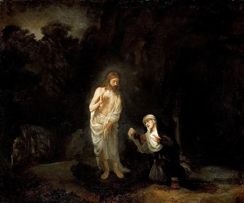 Noli me tangere. Rembrandt Harmenszoon Van Rijn