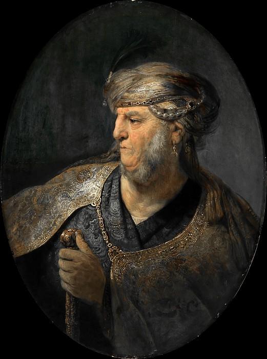 a man in oriental dress. Rembrandt Harmenszoon Van Rijn