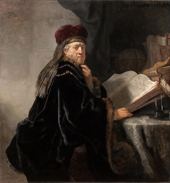 Scholar at his Study. Rembrandt Harmenszoon Van Rijn