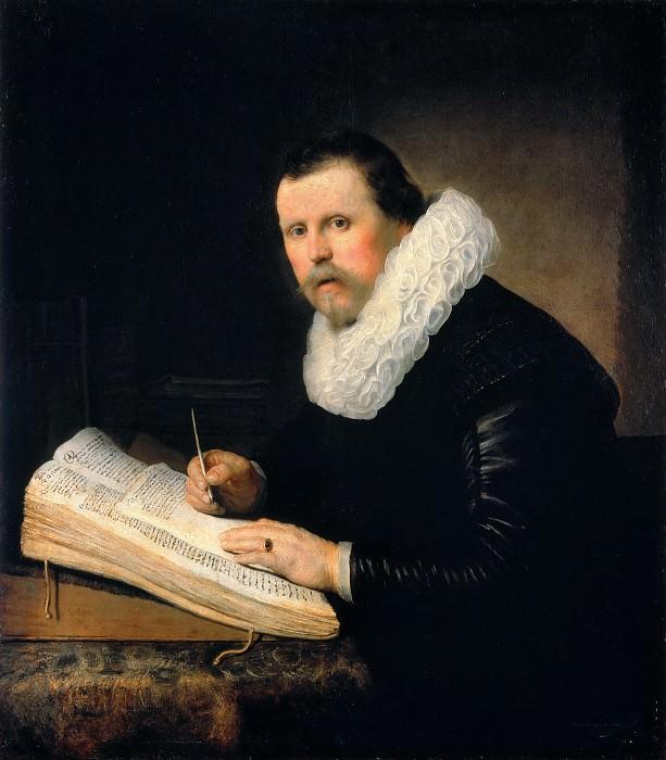 Portrait of a scientist. Rembrandt Harmenszoon Van Rijn
