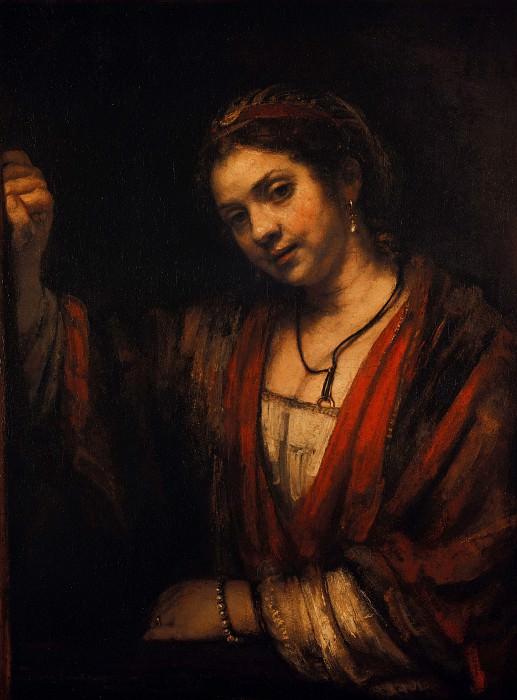 Rembrandt (1606-1669) - Portrait of Hendrickje Stoffels. Part 4