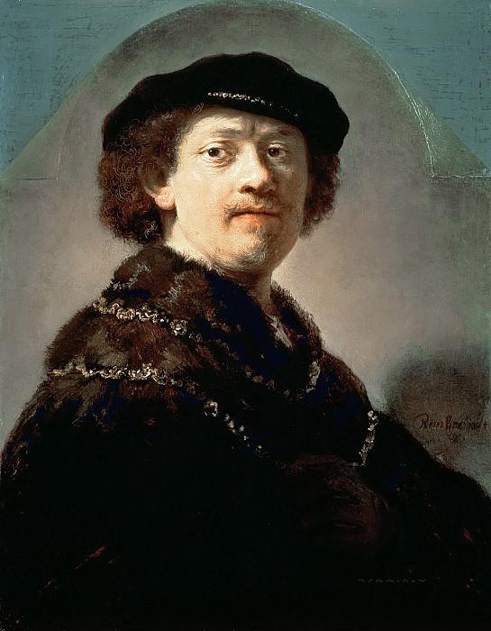Автопортрет (приписывается). Рембрандт Харменс ван Рейн