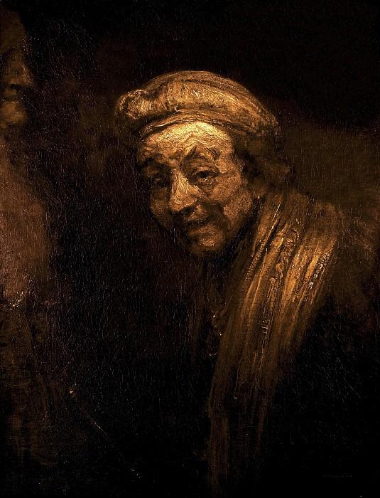 Self-portrait as Zeuxis Laughing. Rembrandt Harmenszoon Van Rijn