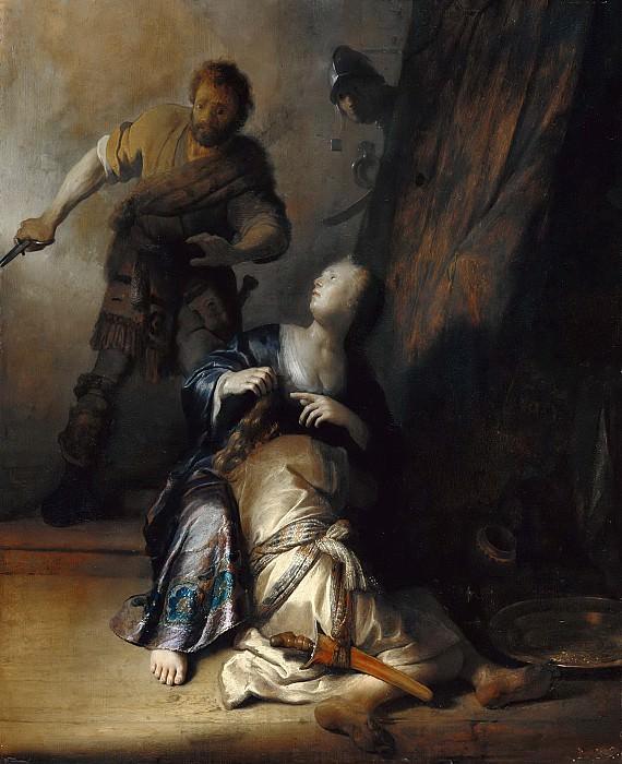 Simson und Delila. Rembrandt Harmenszoon Van Rijn