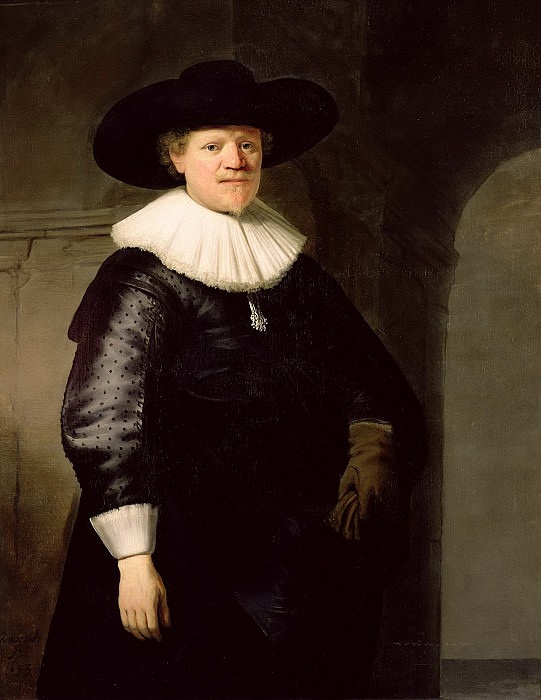 Portrait of a poet Jan Harmensz. Krul. Rembrandt Harmenszoon Van Rijn