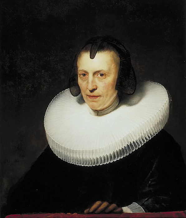 Portrait of Aletta Adriaensdochter. Rembrandt Harmenszoon Van Rijn
