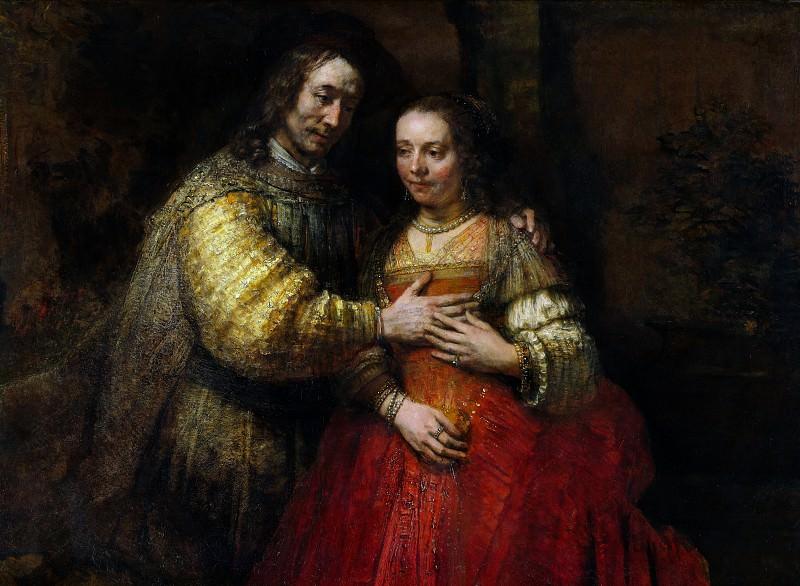 The Jewish Bride. Rembrandt Harmenszoon Van Rijn