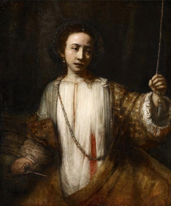 Lucretia. Rembrandt Harmenszoon Van Rijn