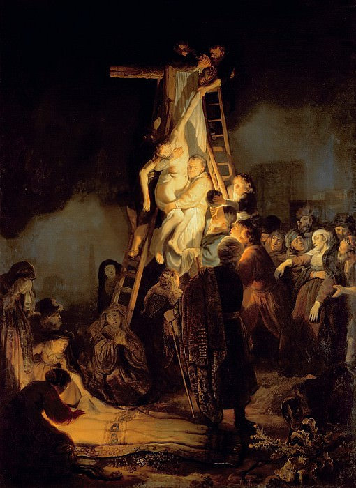Descent from the Cross (attr). Rembrandt Harmenszoon Van Rijn