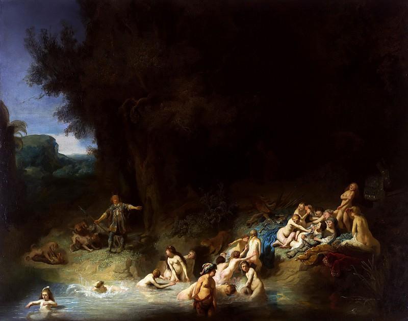 Diana mit Akteon und Kallisto. Rembrandt Harmenszoon Van Rijn