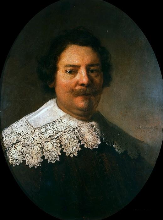Portrait of Willem Burggraeff (studio). Rembrandt Harmenszoon Van Rijn