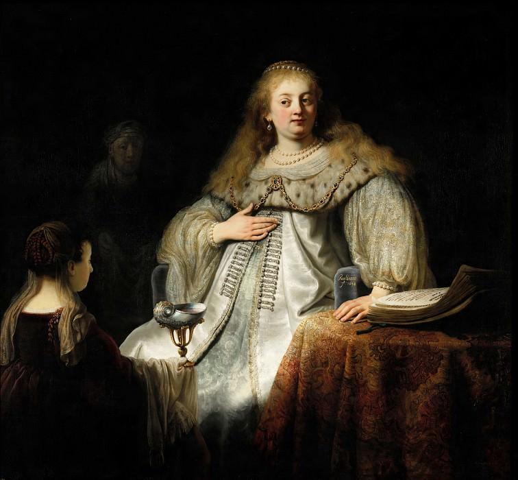 Artemis. Rembrandt Harmenszoon Van Rijn