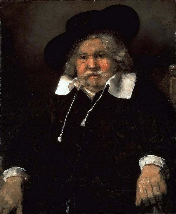 Portrait of an elderly man. Rembrandt Harmenszoon Van Rijn