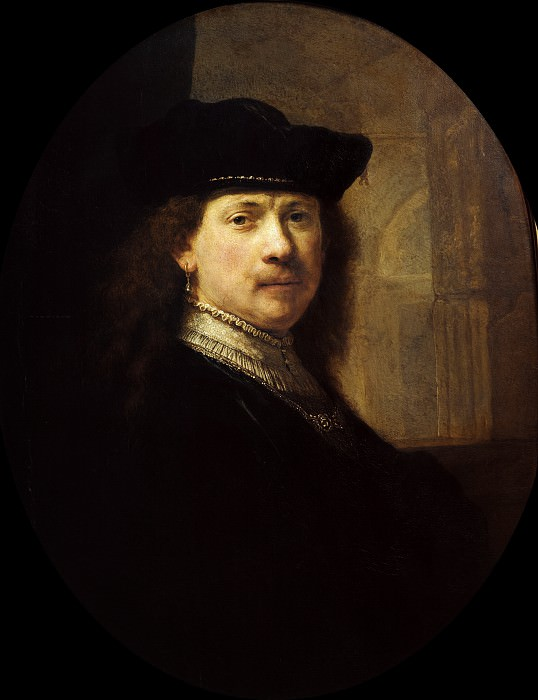 Self-Portrait (attr.). Rembrandt Harmenszoon Van Rijn