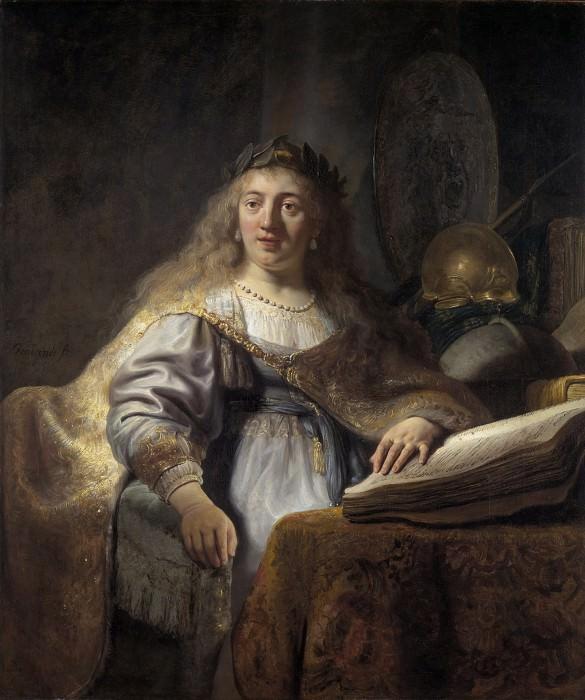 Minerva. Rembrandt Harmenszoon Van Rijn