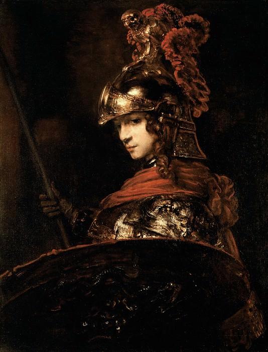 Pallas Athena. Rembrandt Harmenszoon Van Rijn