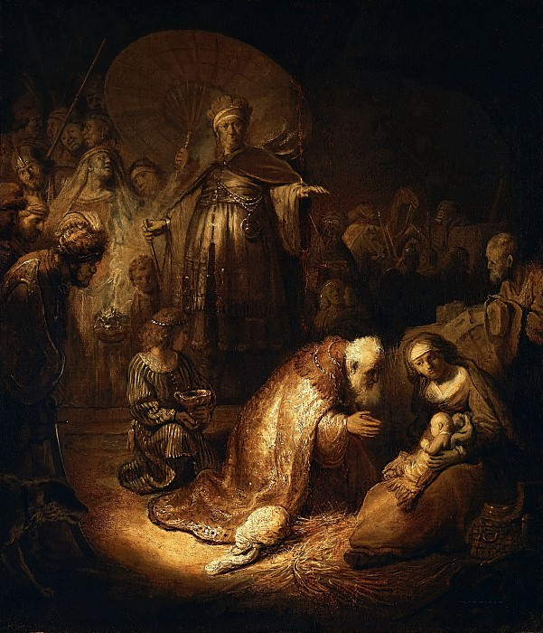 Adoration of the Magi. Rembrandt Harmenszoon Van Rijn