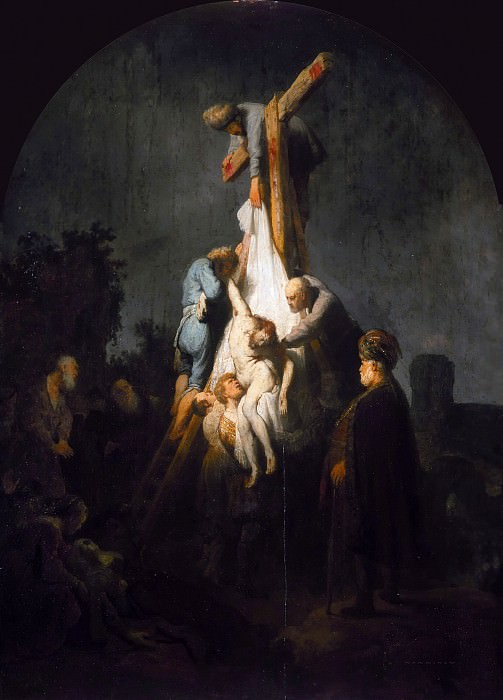 The Descent from the Cross. Rembrandt Harmenszoon Van Rijn