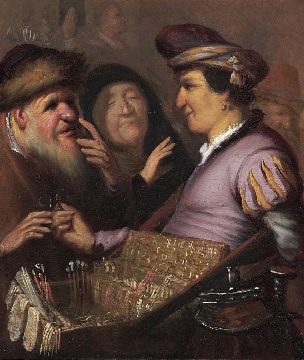 Продавец очков (Аллегория зрения). Рембрандт Харменс ван Рейн