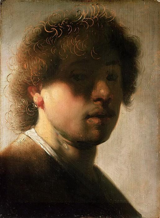 Selfportrait (after). Rembrandt Harmenszoon Van Rijn