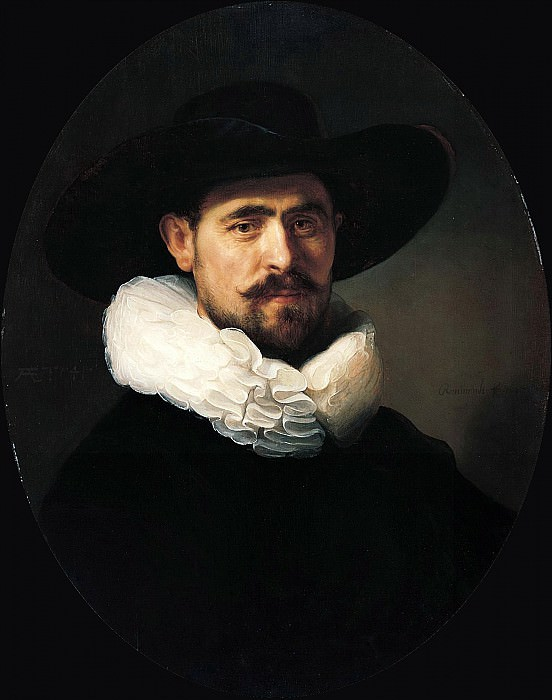 Portrait of a Bearded Man. Rembrandt Harmenszoon Van Rijn