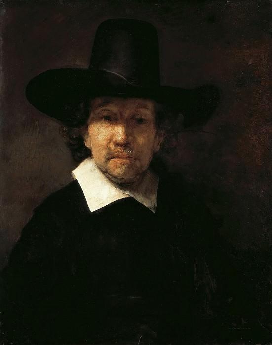 Portrait of the Poet Jeremias de Decker. Rembrandt Harmenszoon Van Rijn