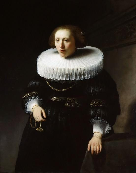 Женский портрет (приписывается). Рембрандт Харменс ван Рейн
