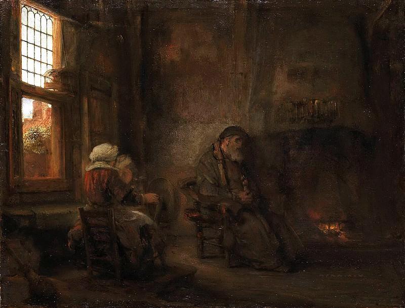Товия и Анна. Рембрандт Харменс ван Рейн