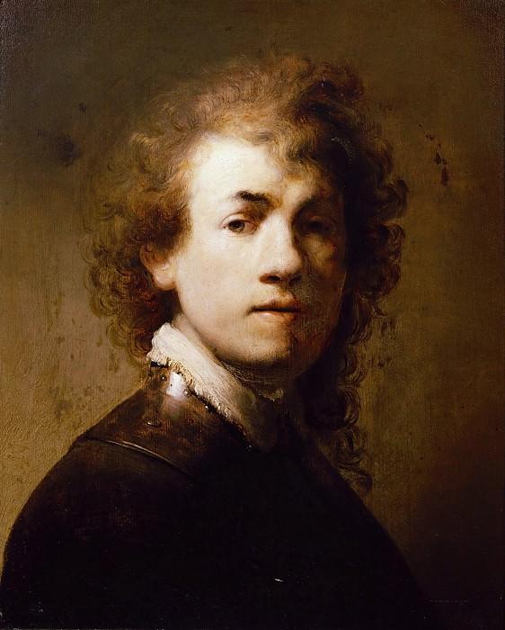 Self-Portrait with a Gorget. Rembrandt Harmenszoon Van Rijn