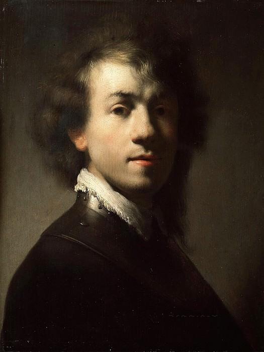 Self-portrait (after). Rembrandt Harmenszoon Van Rijn