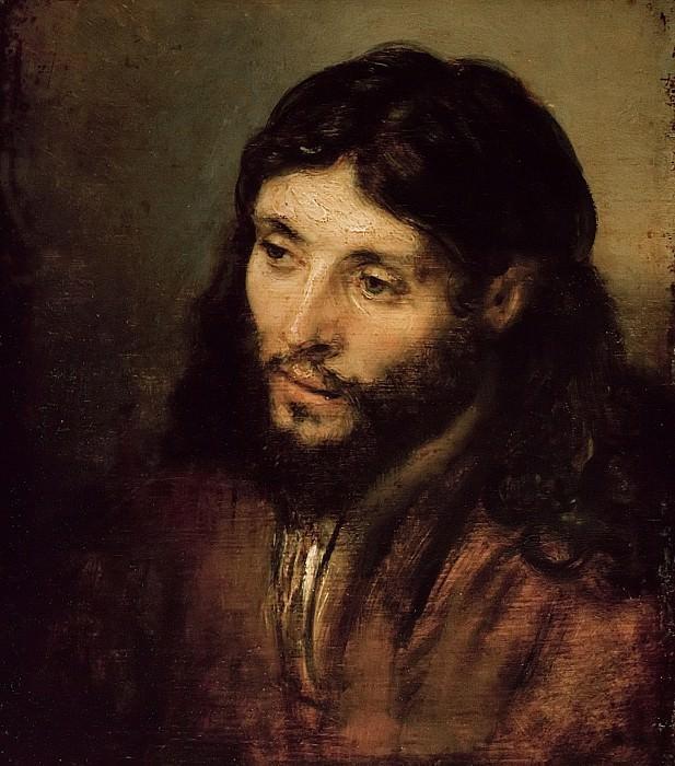 Rembrandt (1606-1669) - Head of Christ. Part 4