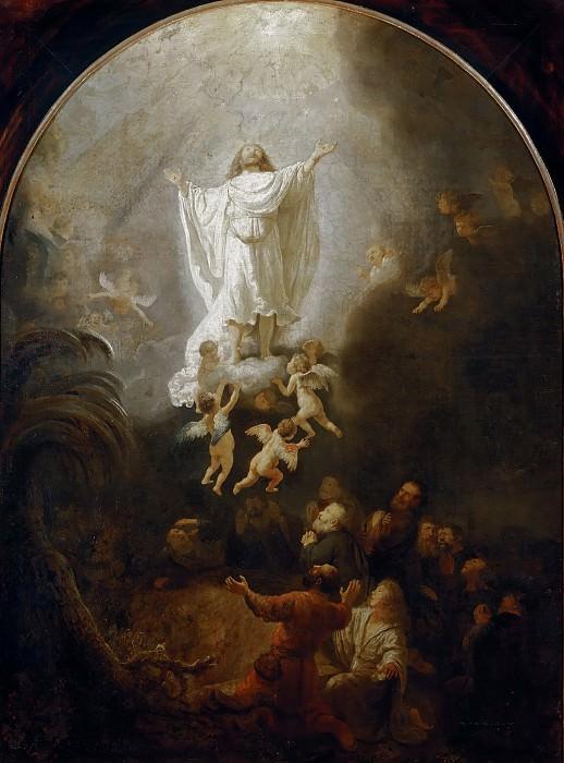Ascension. Rembrandt Harmenszoon Van Rijn