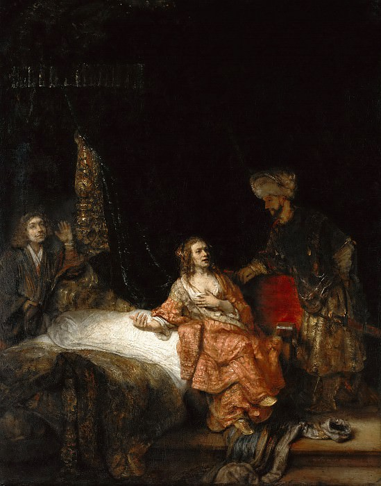 Rembrandt (1606-1669) - Joseph and Potiphars wife. Part 4