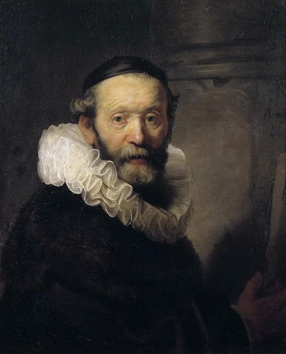 The Preacher Johannes Uyttenbogaert. Rembrandt Harmenszoon Van Rijn (After)