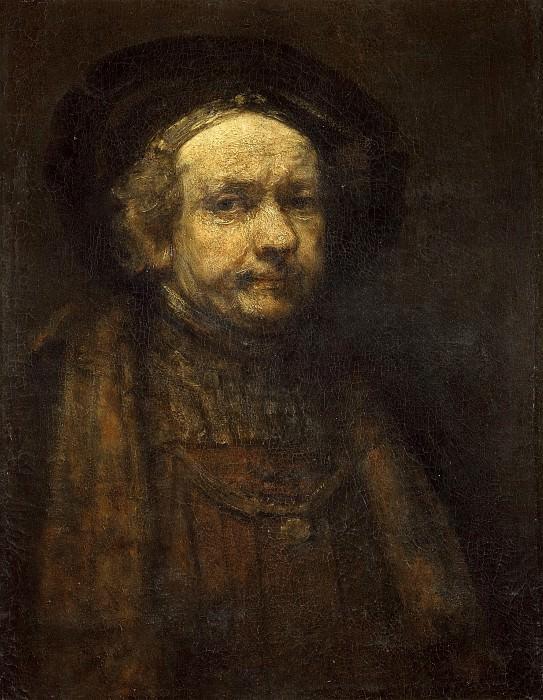 Self Portrait. Rembrandt Harmenszoon Van Rijn