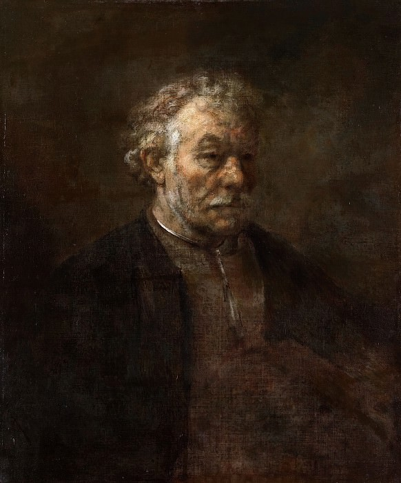 Portrait of an old man. Rembrandt Harmenszoon Van Rijn
