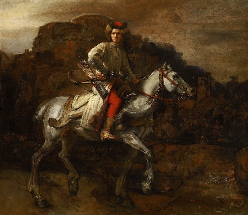 The Polish Rider. Rembrandt Harmenszoon Van Rijn