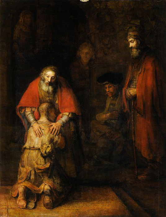The Return of the Prodigal Son. Rembrandt Harmenszoon Van Rijn