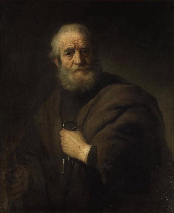 St. Peter. Rembrandt Harmenszoon Van Rijn