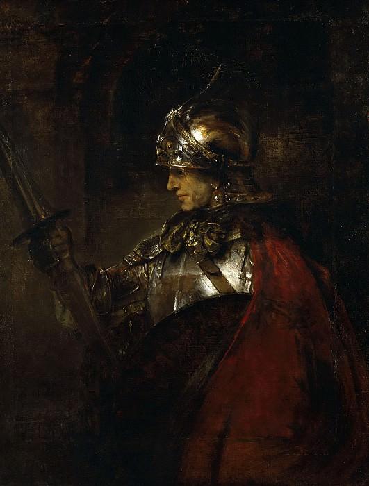 Man in Armour. Rembrandt Harmenszoon Van Rijn
