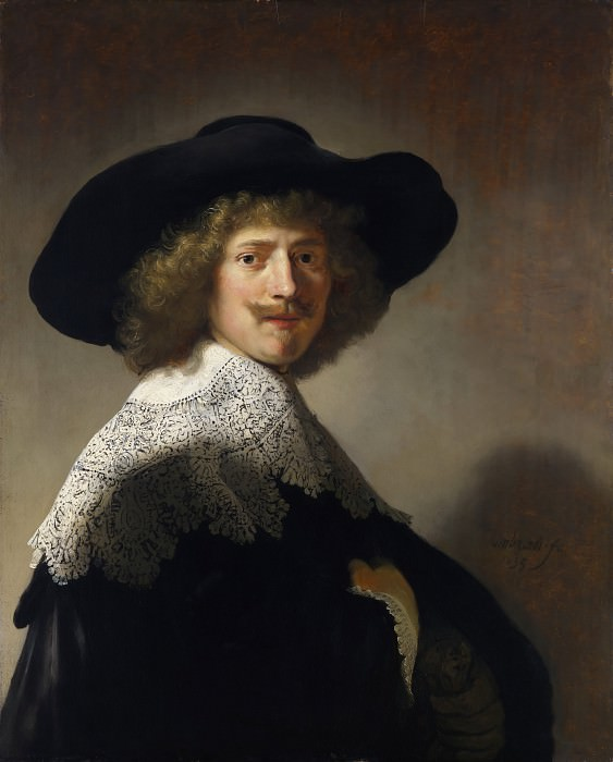 Portrait of Antonie Coopal. Rembrandt Harmenszoon Van Rijn (and workshop)