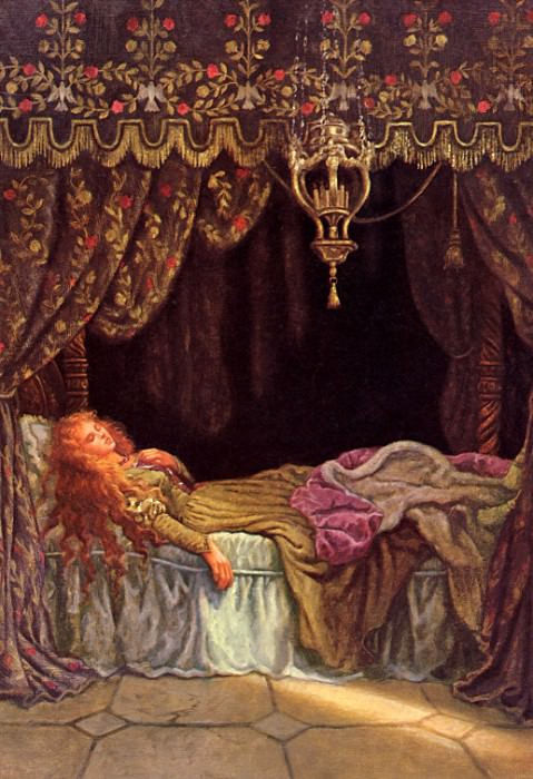 Sanderson, Ruth - Sleeping Beauty 04 (end. Ruth Sanderson