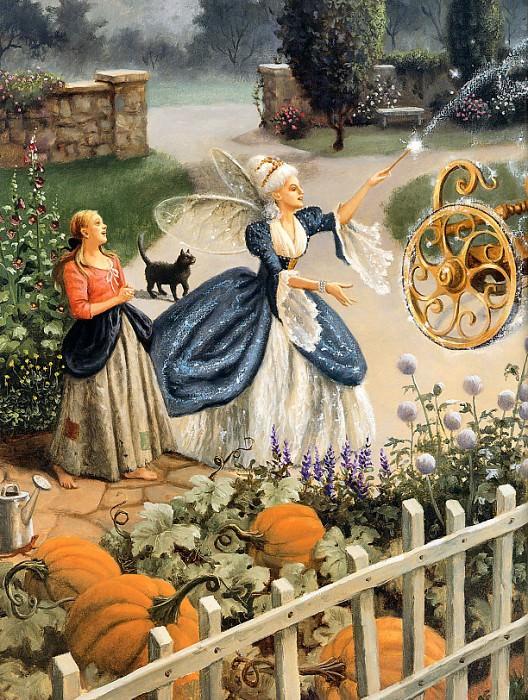 Sanderson, Ruth - Cinderella 05L (end. Ruth Sanderson