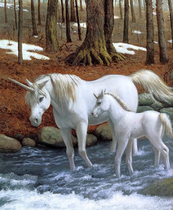 Sanderson, Ruth - Unicorns 10 (end. Рут Сандерсон
