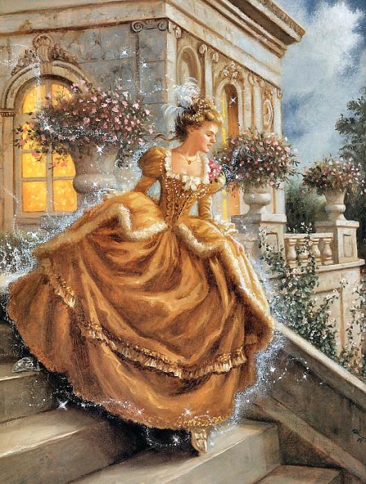 Sanderson, Ruth - Cinderella 10 (end. Ruth Sanderson