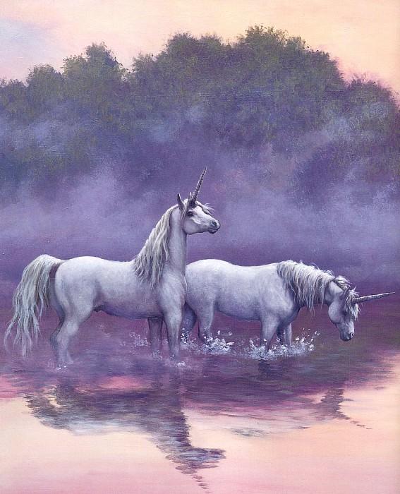 Sanderson, Ruth - Unicorns 07 (end. Рут Сандерсон