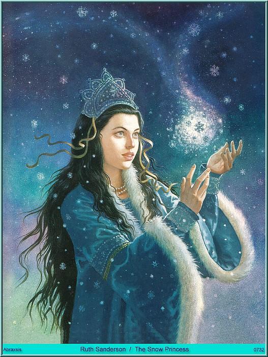 Ruth Sanderson - The Snow Princess (Abraxsis). Рут Сандерсон