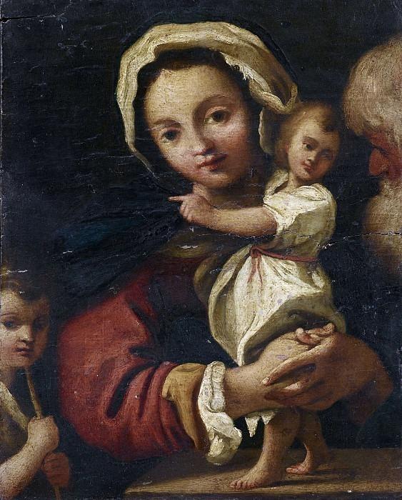 Святое семейство с Сан-Джованнино. Бартоломео Шедони
